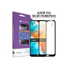 Захисне скло Huawei Y6 (2019) Makefuture Full Glue Black