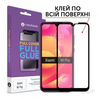Захисне скло Xiaomi Mi Play MakeFuture Full Glue Black