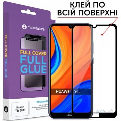 Захисне скло Huawei Y6s (2019) Makefuture Full Glue Black