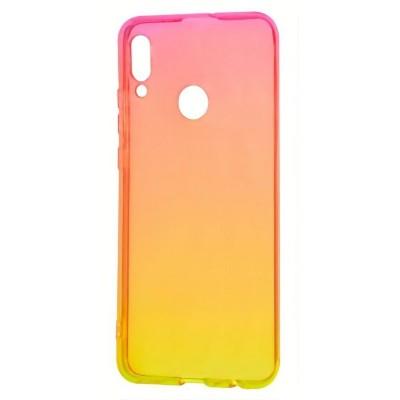 Накладка Samsung A30 (2019) Gradient Red/Yellow