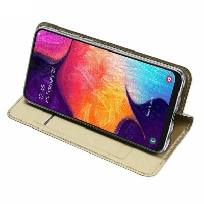 Книжка Samsung Galaxy A50 G-Case Gold