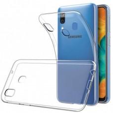 Накладка Samsung A20/A30 (2019) WS Transparent