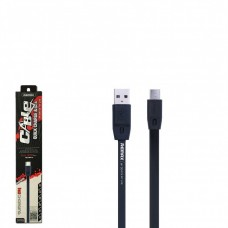 Кабель Remax Full Speed RC-001m MicroUSB 2m Black