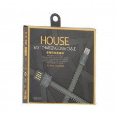 Кабель Proda PD-B06m House MicroUSB Gray