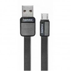 Кабель Remax Platinum RC-044i MicroUSB Black