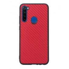 Накладка Xiaomi Redmi Note 8 Carbon Red