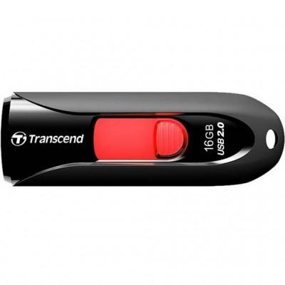 USB Flash 16Gb Transcend (JetFlash 590) Black