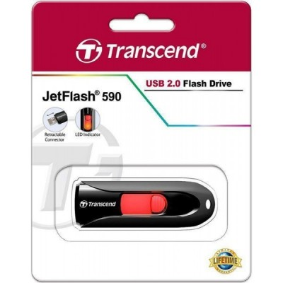 USB Flash 32Gb Transcend (JetFlash 590) Black