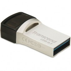 USB Flash 16Gb Transcend (JetFlash 890) Type-C Silver USB 3.1/3.0