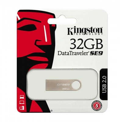 USB Flash 32Gb Kingston (DTSE9H) Silver