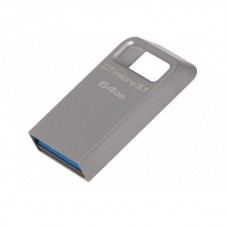 USB Flash 64Gb Kingston (DT50) Metal Blue USB 3.1