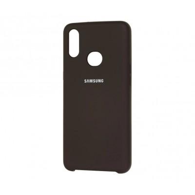 Накладка Samsung A10S (2019) Silicon Cover Black
