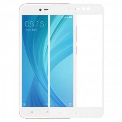 Захисне скло Xiaomi Redmi Note 5A Prime MakeFuture Full Cover White