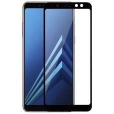 Захисне скло Samsung Galaxy A6 Plus (2018) Full Glue Black