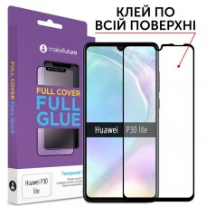 Захисне скло Huawei P30 Lite Makefuture Full Glue