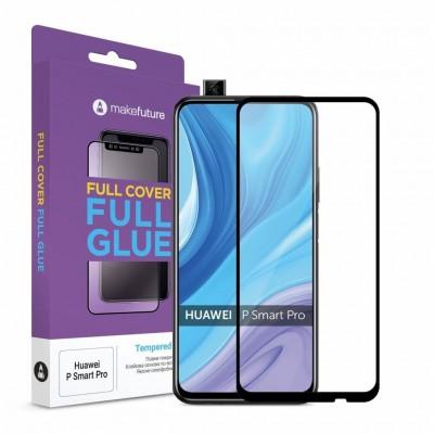 Захисне скло Huawei P Smart Pro Makefuture Full Cover Full Glue
