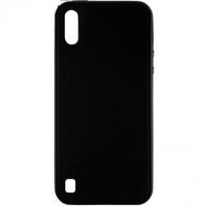 Накладка Samsung A01 Graphite Black