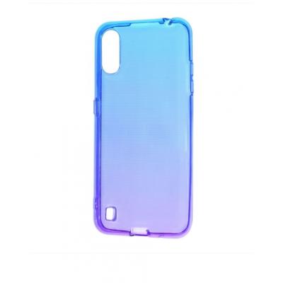 Накладка Samsung A01 Gradient Blue/Purple