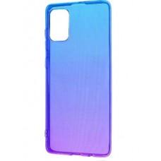 Накладка Huawei Y5P Gradient Design Blue/Purple