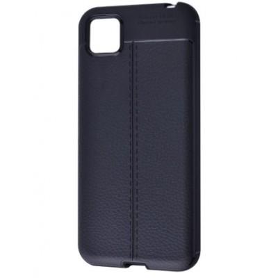 Накладка Huawei Y5P/Honor 9S Ultimate Leather Black