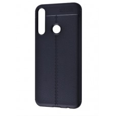 Накладка Huawei Y6P Ultimate Leather Black