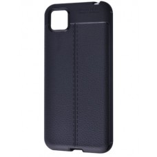 Накладка Samsung A21S (2020) Ultimate Leather Black