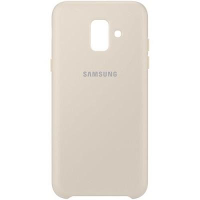 Накладка Samsung A6 Dual Layer Cover Gold
