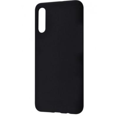 Накладка Samsung A7(2018) (A750F) TPU Matt Black