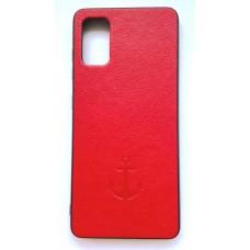 Накладка Samsung A41 Anchor Red