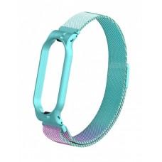 Ремінець для фітнес-браслета Xiaomi Mi Band 5 Milanese Magnetic Band Gradient Blue-Purple