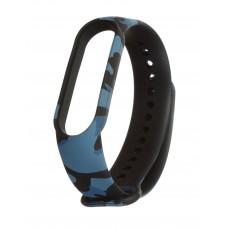 Ремінець для фітнес-браслета Xiaomi Mi Band 5 Khaki Blue
