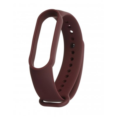 Ремінець для фітнес-браслета Xiaomi Mi Band 5 Marsala