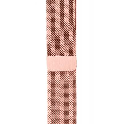 Ремінець Apple Watch 44mm Milanese Loop Light Pink