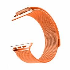 Ремінець Apple Watch 42/44mm Milanese Loop Papaya
