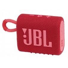 Портативна акустика JBL Bluetooth GO 3 Red (JBLGO3RED)