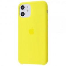 Накладка iPhone 11 Silicone Case Canary Yellow (HC)