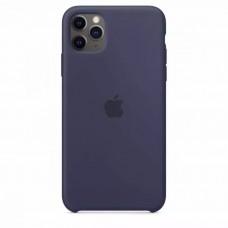 Накладка iPhone 11 Pro Max Silicone Case Blue (HC)