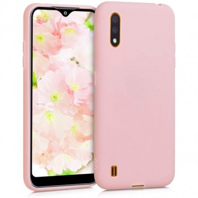 Накладка Samsung A01 TPU Soft case Pink