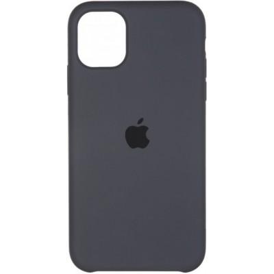 Накладка iPhone 11 Pro Silicone Case Dark Grey (HC)