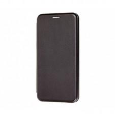 Книжка Huawei Y6P  Leather Case Black