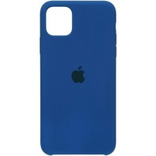 Накладка iPhone 11 Pro Max Silicone Case Delft Blue (HC)
