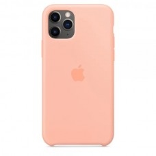 Накладка iPhone 11 Pro Silicone Case Grapefruit