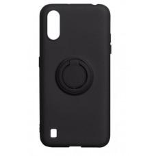 Накладка Samsung A01 Ring Color Black