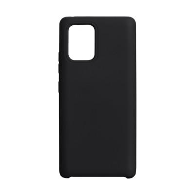 Накладка Samsung A71 (2020) Silicone Case Black