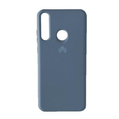 Накладка Huawei Y6P Silicone Case Full Lavander Grey