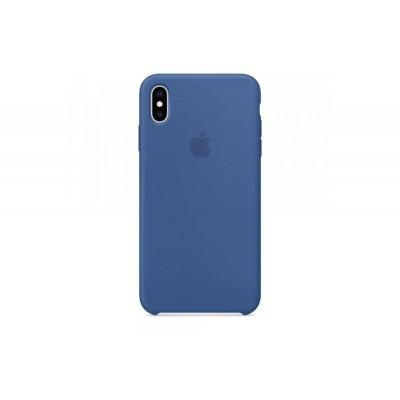 Накладка iPhone XS Max Silicone Case Delft Blue