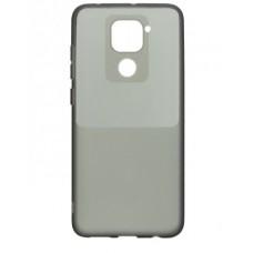 Накладка Xiaomi Redmi Note 9S/Note 9Pro Bright Silicone Dark Night
