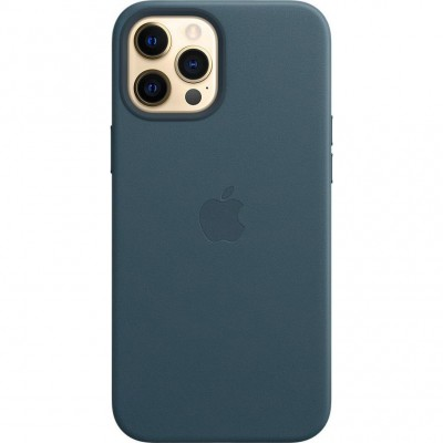 Накладка  iPhone 12 Pro Max Leather Case (HC) Blue