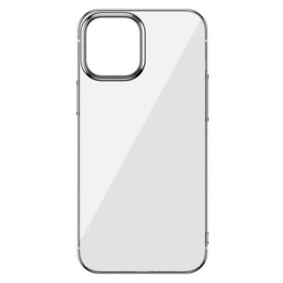 Накладка iPhone 12/12Pro Totu Transparent Silver