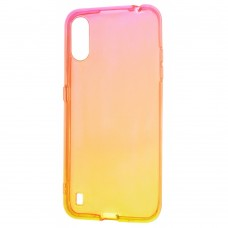 Накладка Samsung Galaxy M51 Gradient Design Red/Yellow